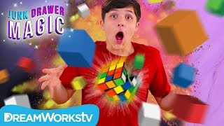 Rubiks Cube Explosion | JUNK DRAWER MAGIC