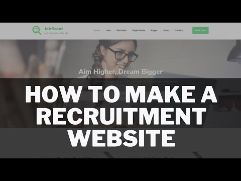 How To Make A Recruitment Website In Wordpress