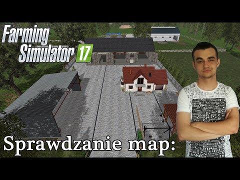 Farming Simulator 17☆ Sprawdzanie map #10 Bory Dolnośląskie ㋡