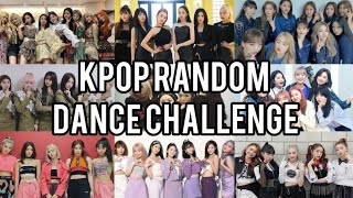 KPOP RANDOM DANCE CHALLENGE | GIRL GROUPS