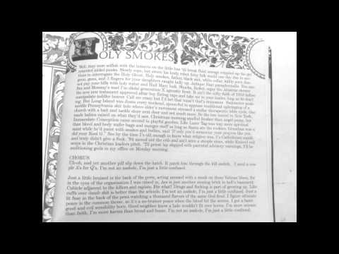 Aesop Rock - Holy Smokes with Lyrics