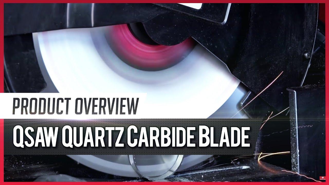 Qsaw quartz carbide blade youtube qsaw quartz carbide blade sawblade greentooth Choice Image