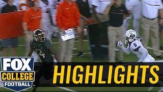 Seth Russell finds Chris Platt for 89-yard touchdown - 2016 College Fotball Highlights