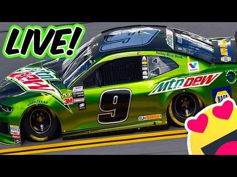 CHASE'S GREEN CAR APPRECIATION STREAM // NASCAR Heat 2 Online Cup Racing LIVE