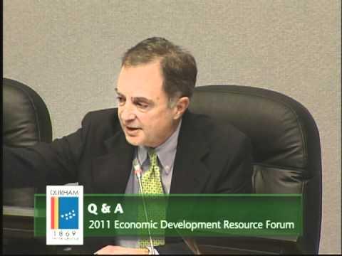 2011 Economic Development Resource Forum (December 7, 2011)