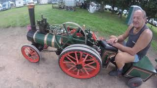 Home Built  1/2 Scale Steam Engines at The March Steam fair 2019