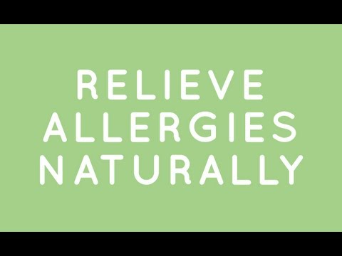 Relieve Allergies Naturally