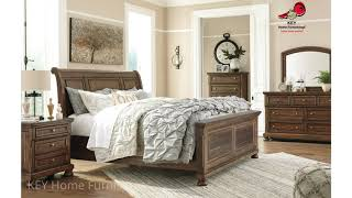 Ashley Flynnter B719 Collection Bedroom Furniture   KEY Home