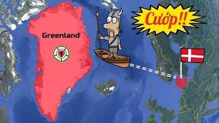 Tại sao Greenland là một phần của Đan Mạch?