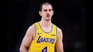 Alex Caruso is BALLING for the Lakers   19.8 PPG in Four-Game Stretch