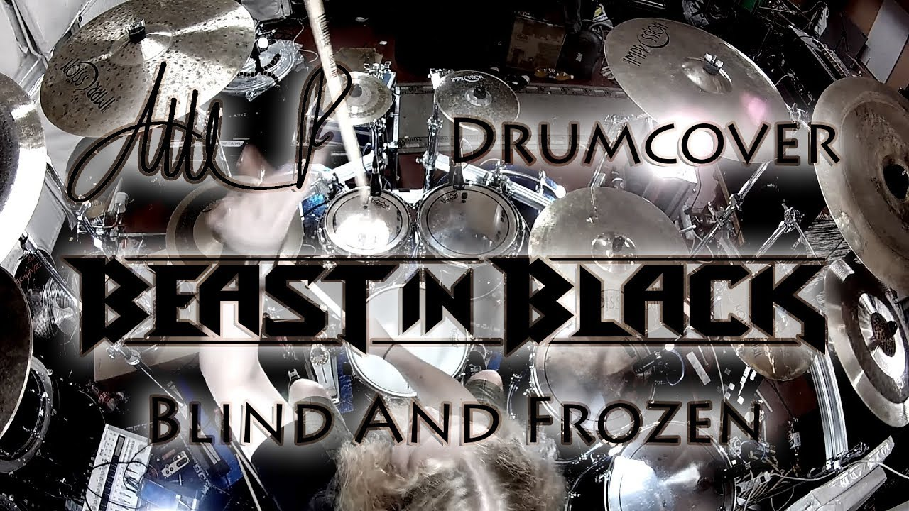 Atte P Drum Cover Beast In Black Blind And Frozen Youtube