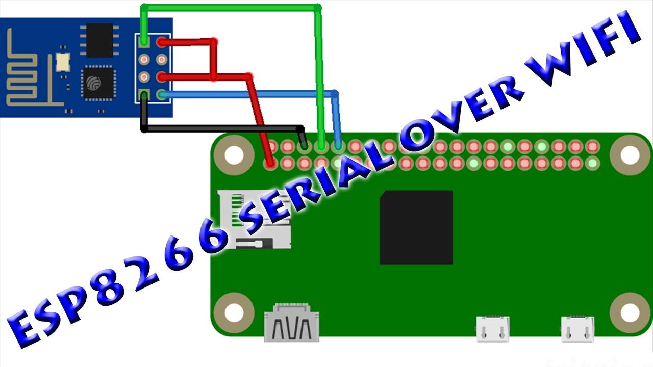Esp 01 Serial Bridge Over Wifi Link Youtube Troubleshooting Wiring Problems With The Loconet