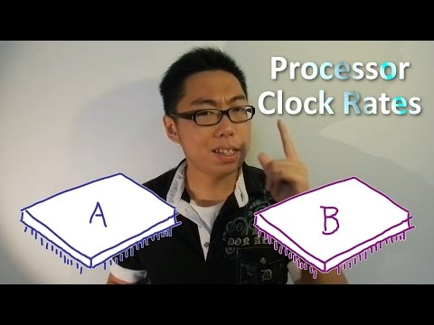Clock Rates and Processor Performance