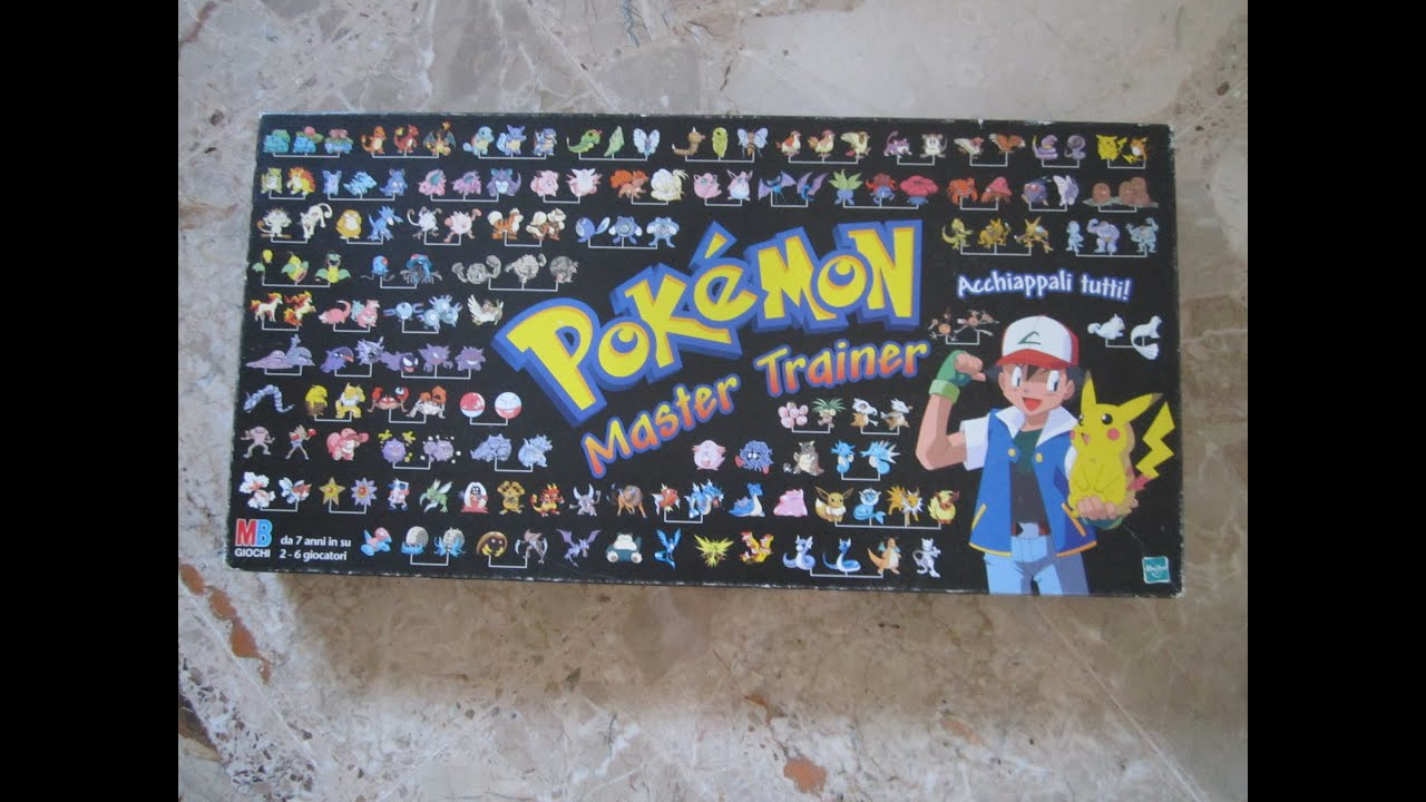 Gioco da tavolo pokemon trainer mb hasbro 2000 youtube - Dungeon gioco da tavolo ...