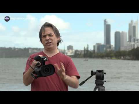 Shooting with the JVC GY-HM200: 4K handheld camcorder