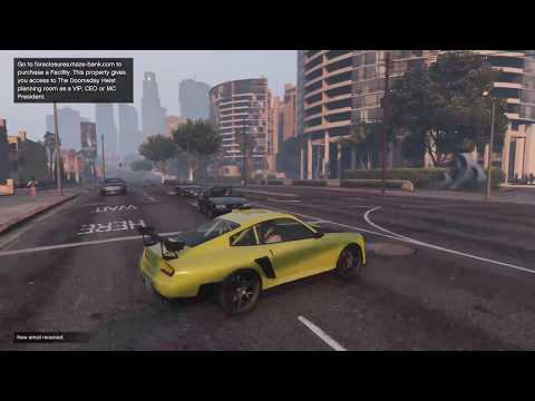 GTA V - driving a few different sports cars to get special crates - WAYNE GROW INDUSTRIES RP LP 72