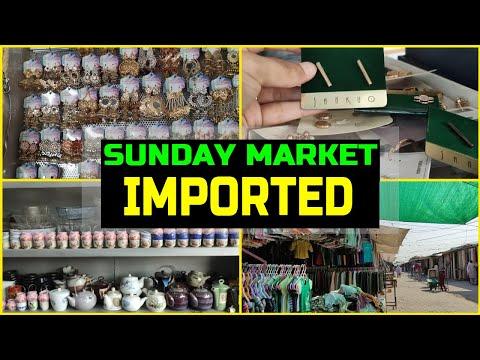 Itwar Bazzar Islamabad   Sunday market Islamabad  Landa Bazar