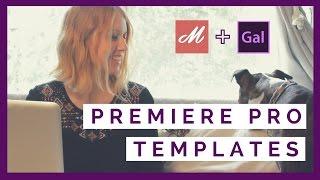 Using Premiere Pro CC Templates Motion Array