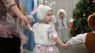 Танец малышей в детском саду