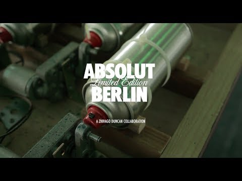 Absolut Berlin - Distilling the Spirit of the City