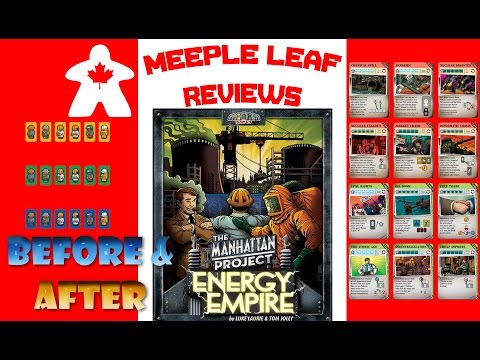 The Manhattan Project: Energy Empire - Before & After