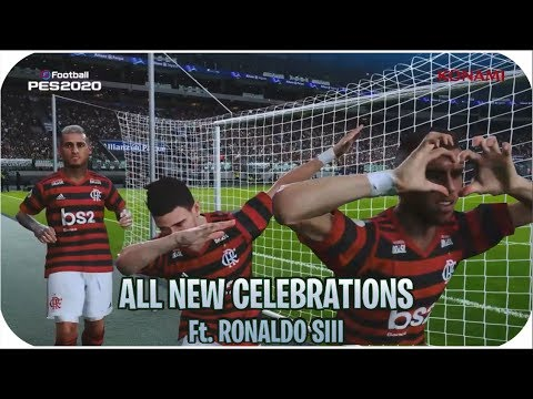 PES 2020 NEW PLAYER CELEBRATIONS | FULL HD