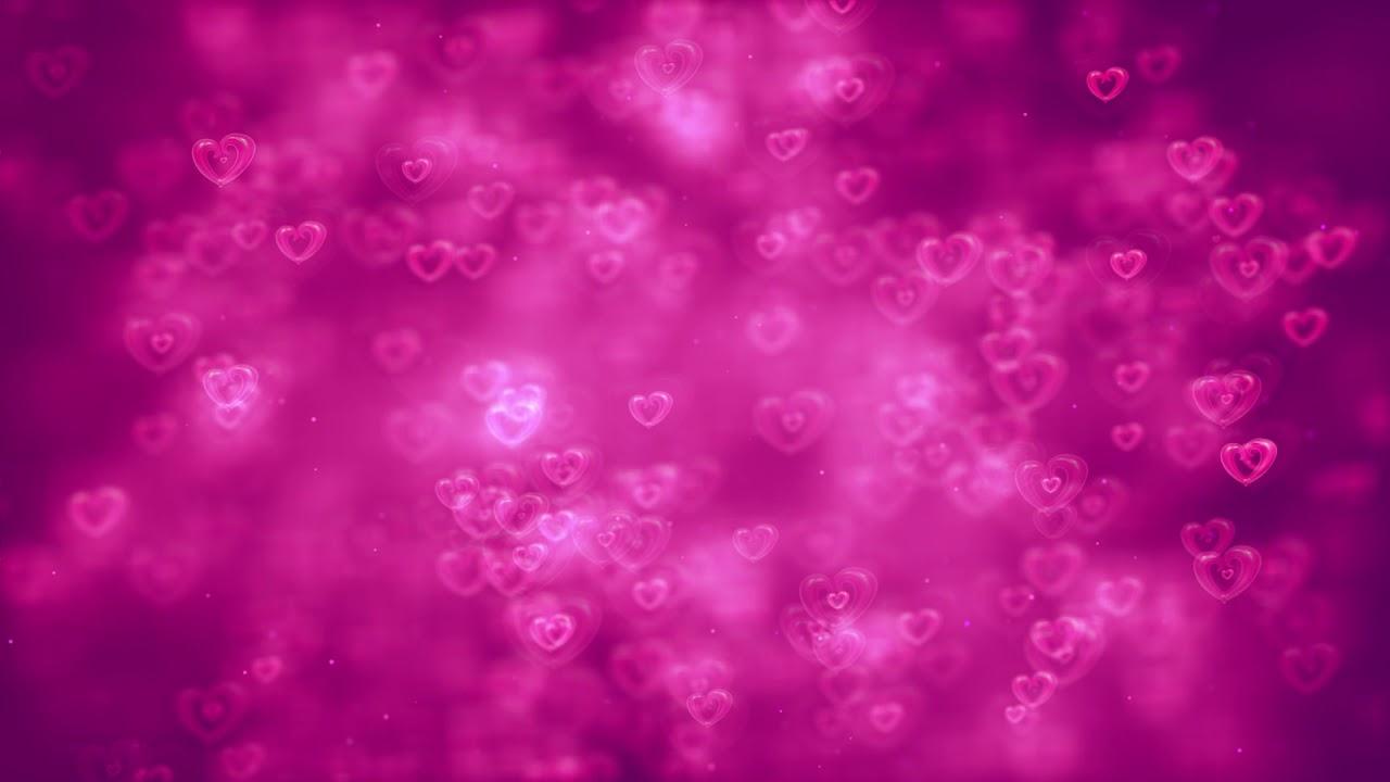 hd love motion background loop- romantic love heart wedding