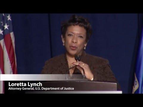 Plenary: Address by U S Attorney General Loretta E. Lynch