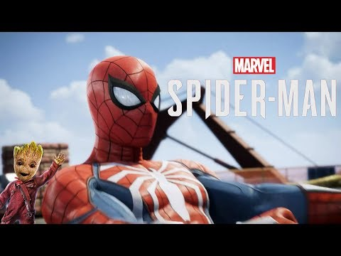 Spider-Man PS4 Intro (Guardians of the Galaxy Vol. 2 Style)