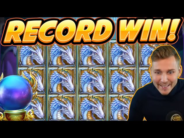 RECORD WIN! Rise of Merlin Big win - MEGA WIN - Casino Game from Casinodaddy Live Stream