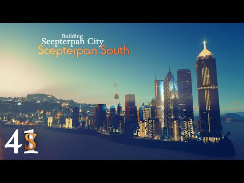 Cities: Skylines Scepterpan City - #41 - Scepterpan South