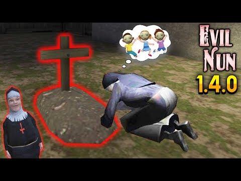 СЕКРЕТ КЛАДБИЩА ДЕТЕЙ МОНАХИНИ новое обновление в Evil Nun 1.4.0 монахиня
