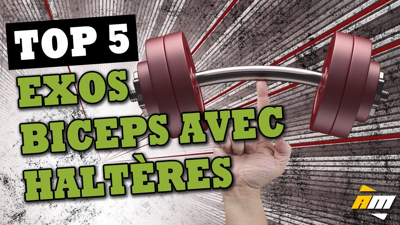 Très bien Top 5 meilleurs exercices de biceps avec haltères - Muscler les @GE_02