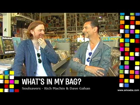 Dave Gahan and Rich Machin (Soulsavers) - What's In My Bag?