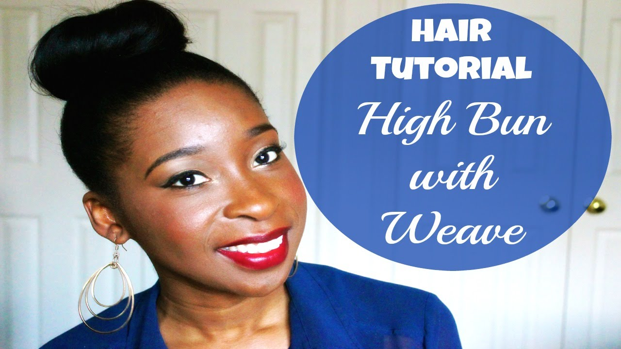 Hair tutorial high bun with hair extensions for relaxed hair hair tutorial high bun with hair extensions for relaxed hair pmusecretfo Gallery