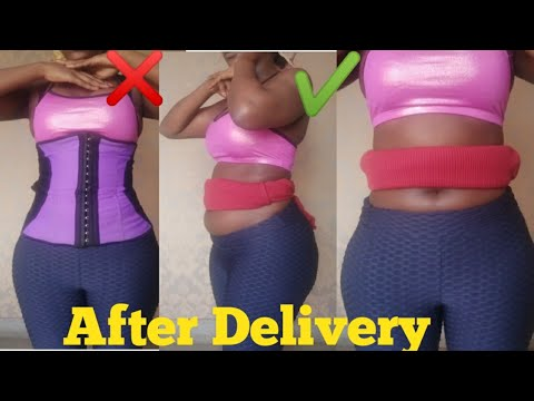 How To Get Flat Tummy After Delivery.How to: Postpartum Bind .Grandma Tips and Tricks
