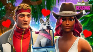 DIRE ADOPTS A PUPPY FOR HIS GIRLFRIEND - WHAT IS HIS NAME?? Fortnite Season 6 Short Film