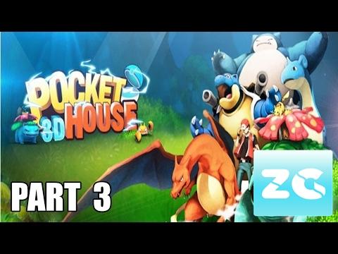 Pocket house 3d android ios walkthrough part 3 dark for 3d house walkthrough