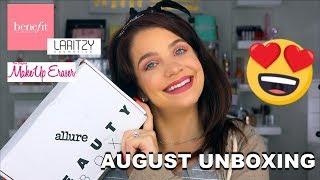 August Allure Beauty Box Unboxing 2019