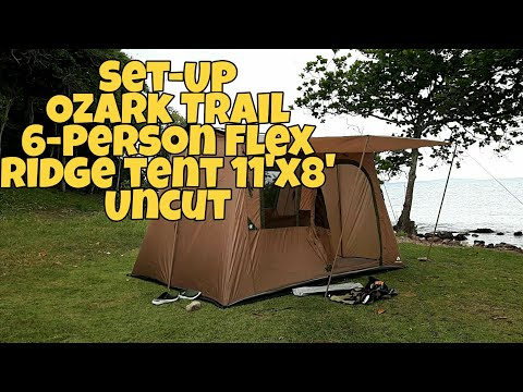 Ozark Trail 6-Person Flex Ridge Tent [ Jirayu Channel