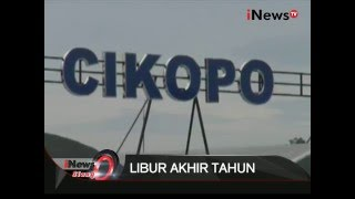 Liburan Akhir Tahun, Tol Cipali Macet 10 Km Hingga Tol Cikampek - iNews Siang 24/12