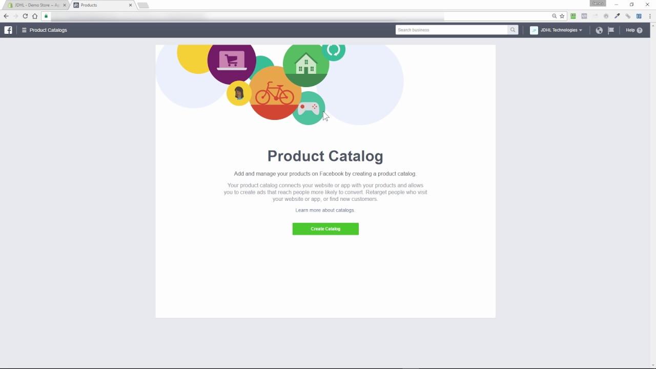 Shopify Facebook Product Catalog Creation