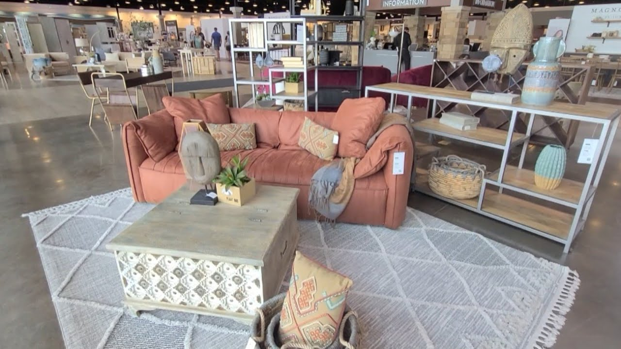 Part 2: Beautiful Furniture @ Living Spaces! | Lush Living Rooms & Glam Bedrooms