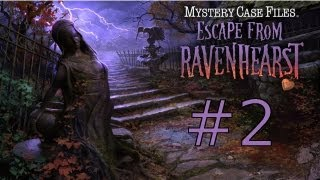 Mystery Case Files: Escape from Ravenhearst Walkthrough part 2