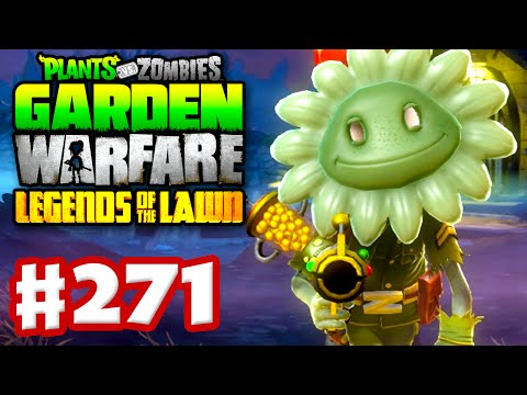 Plants vs. Zombies: Garden Warfare - Gameplay Walkthrough Part 271 - Spooky Scary Foot Solider! (PC)