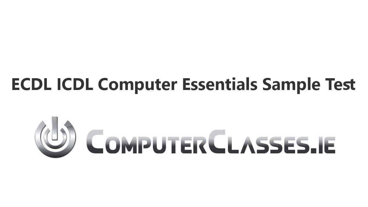 Ecdl sample tests module 3.