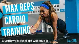 45-MINUTE HIIT CARDIO Workout From Home   No Equipment TOTAL BODY
