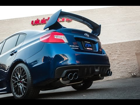 2015 Subaru Wrx Exhaust >> 2015 Subaru WRX STI Test Drive With Agency Power Catback ...