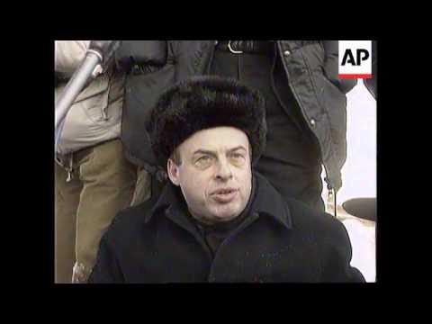Russia - Sharansky returns to KGB prison