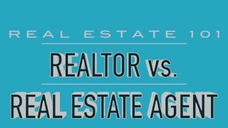 What's the Difference Between a REALTOR and a Real Estate Agent?